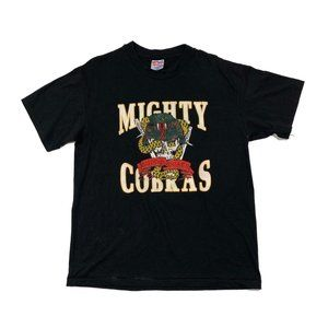 Vintage Mighty Cobras Army Military Tee Shirt Med